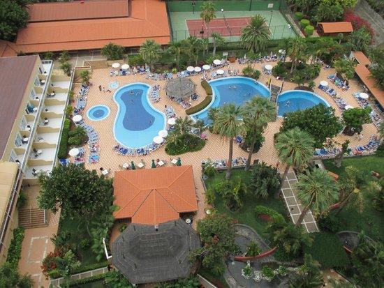Sunlight Bahia Principe San Felipe: La piscine vue du balcon
