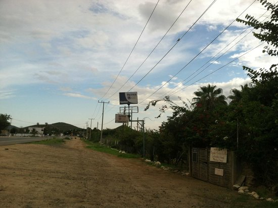 Ruby Sandbar : Sign from the road