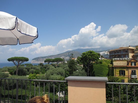 Hotel Palazzo Guardati: view from the rooftop