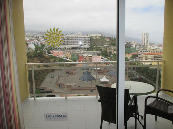 Sunlight Bahia Principe San Felipe: Le balcon