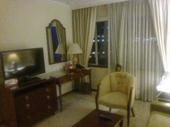 Hotel Tequendama: habitacion de relax o trabajo