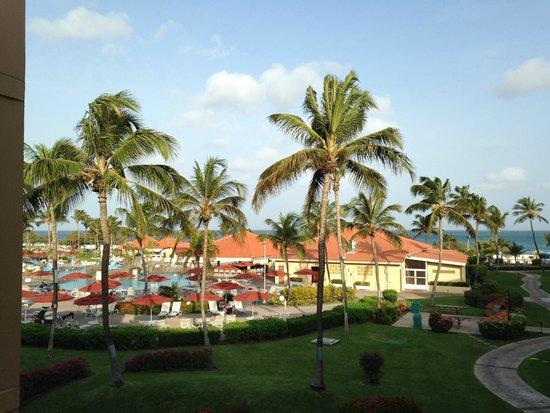 La Cabana Beach Resort & Casino: Lovely view while waiting for the elevator