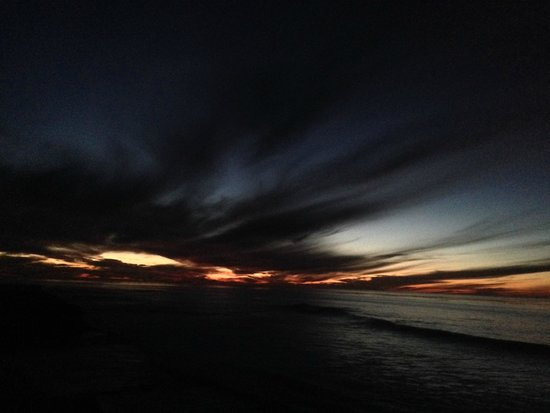 La Jolla Cove: Atardecer