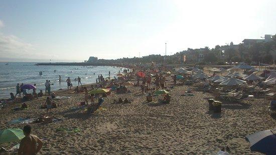 La Playa de Sitges: PLAYA 1