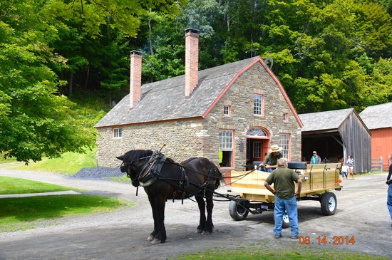 The Farmers' Museum: Carriage Ride