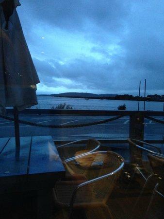 Oyster Inn: view from restaurant