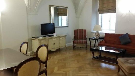 Smetana Hotel : Suite interior view
