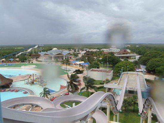Wet'n Wild Cancún: Le Parc vue d'en haut