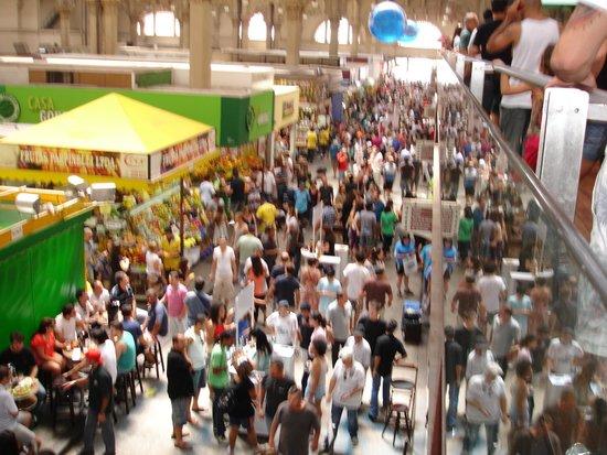 Mercadao - Sao Paulo Municipal Market: olha que era numa 2ª feira...kk