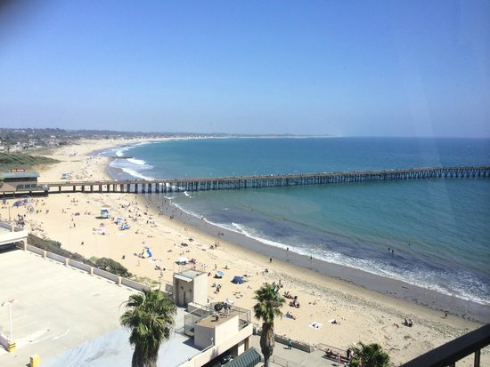 Crowne Plaza Ventura Beach: The View from our suite
