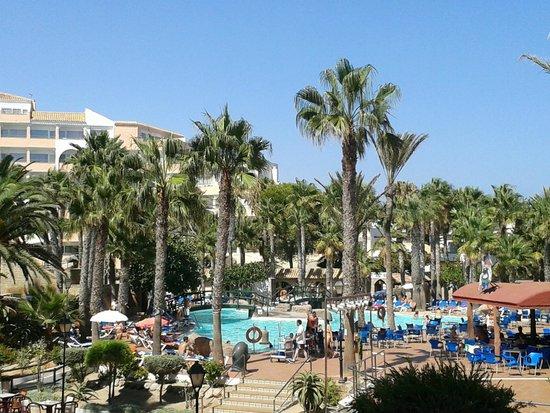 Playasol Spa Hotel: MIS VISTAS DESDE LA HABITACIÓN.- IMPRESIONANTE