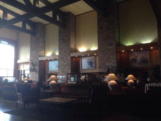 Jackson Lake Lodge : The grand lobby