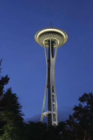 Skyway Inn Hotel: Space Needle