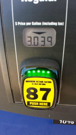 The Inn at Kelly's Ford: Local Gas