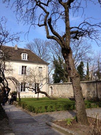 Photo de mus e de montmartre paris - Les jardins de montmartre ...