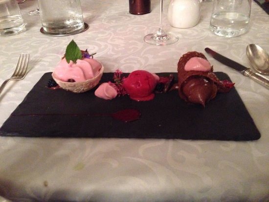 Auberge de la Riviere Restaurant : Pudding to die for