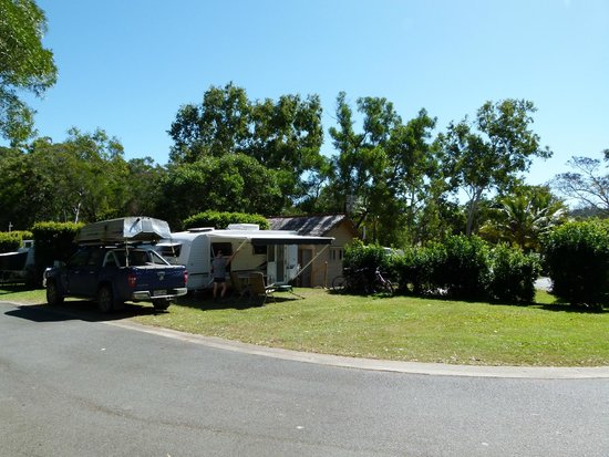 BIG4 Airlie Cove Resort & Caravan Park: Ensuite site 16 Simply the best!!