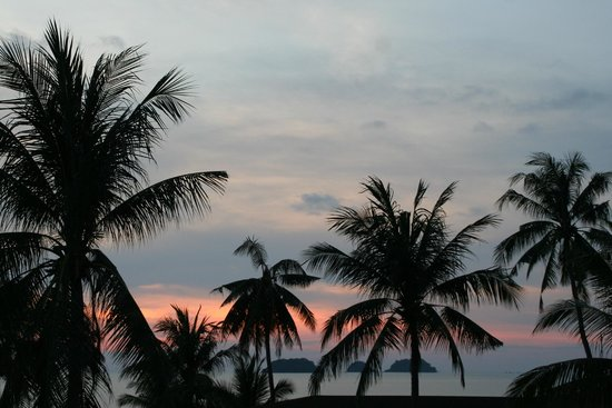 Bailan Beach Resort: Der Sonnen Untergang vom Balkon