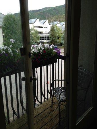 Hotel Talisa, Vail: Balcony view