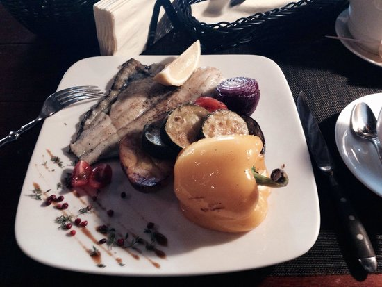 Piejura: Baltic fish with grilled vegetables!
