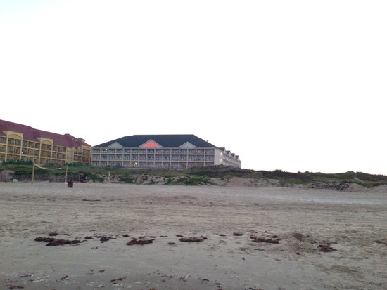 Hilton Garden Inn South Padre Island: No more than a 2 minute walk to your room