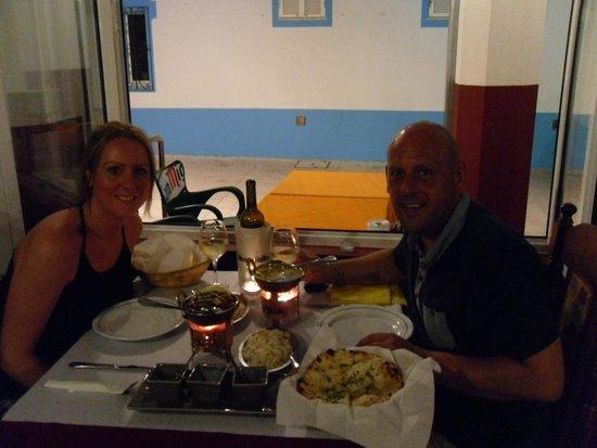 Indian Ocean : Romantic dinner