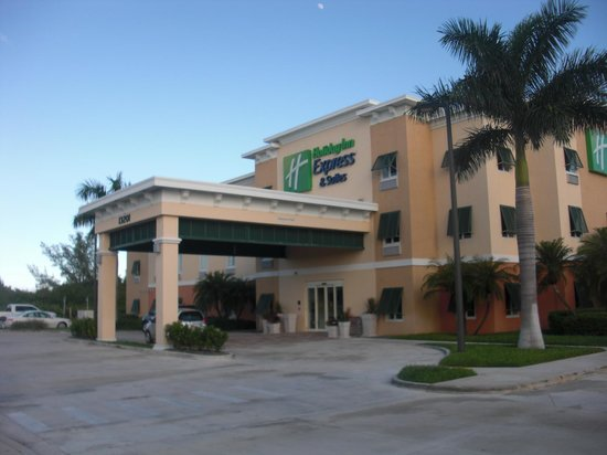 The Holiday Inn Express & Suites Marathon : Entrée
