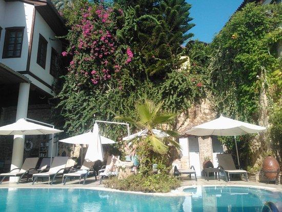 Dogan Hotel: Natuuren rust in het midden van de oude stad.