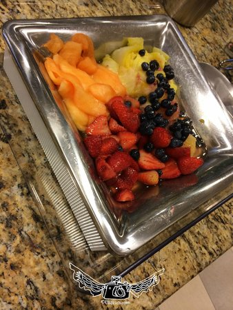 Hampton Inn & Suites Ocala - Belleview: disgusting canned sugar fruit of kinds at breakfast