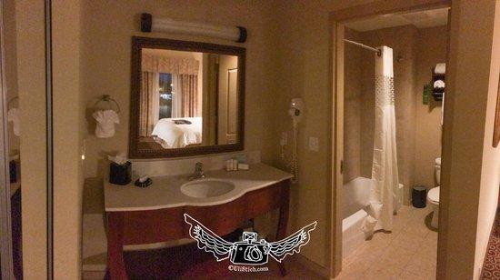Hampton Inn & Suites Ocala - Belleview: bath