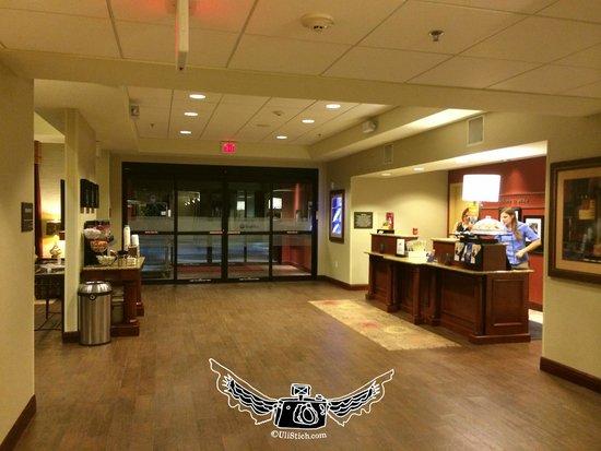 Hampton Inn & Suites Ocala - Belleview: lobby