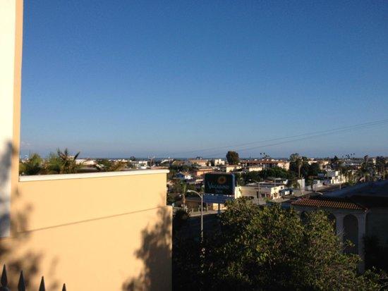 Best Western Plus San Pedro Hotel & Suites: Intersection sur rue Gafey