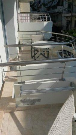 Aegean Blue Hotel : balcony