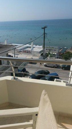 Aegean Blue Hotel : from balcony