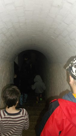 Crownhill Fort: Entering tunnel