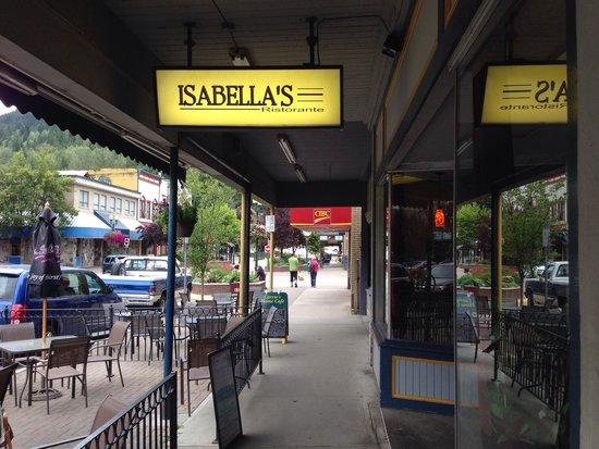 Isabella's Ristorante: Isabella's Restaurant Revelstoke, BC