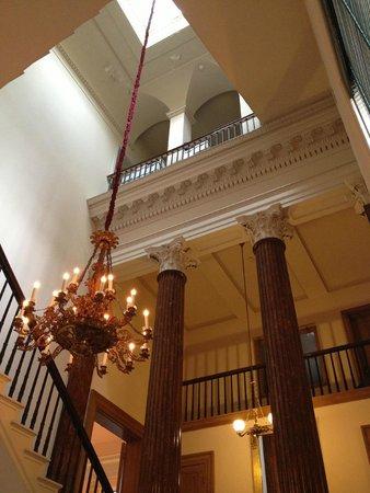Athenaeum of Philadelphia: chandelier main starcase Athenaeum