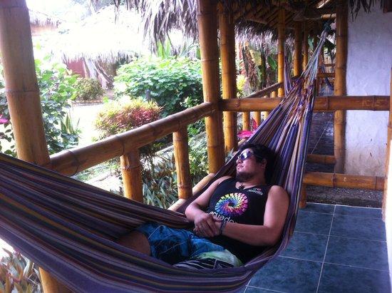 Montanita Cabanas: Tranquilidad!