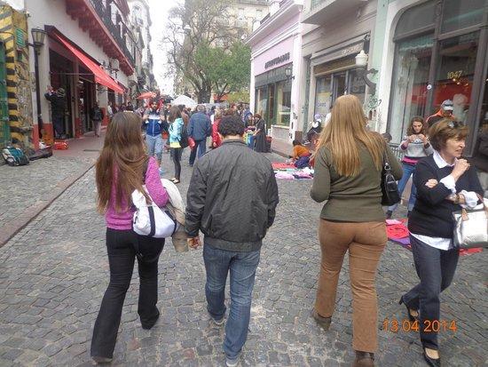 San Telmo: Calle de los artesanos