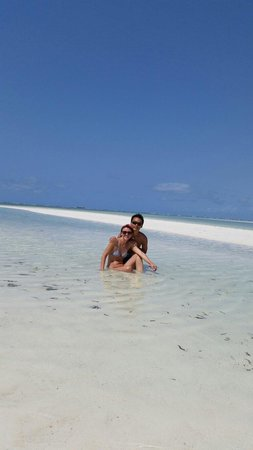 Eden Village Watamu Beach : Passeggiata con bassa marea