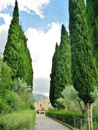 San Damiano: Percorso esterno