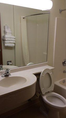 Microtel Inn & Suites by Wyndham Pueblo : Bathroom