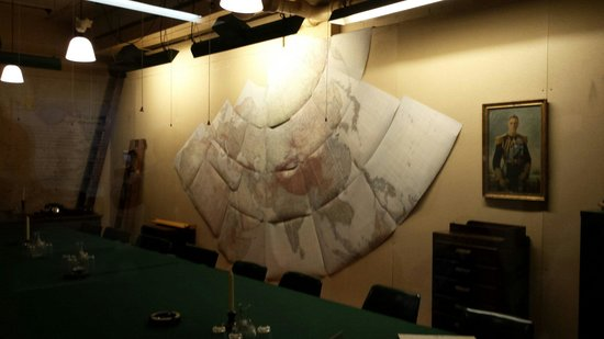 Churchill War Rooms: War room