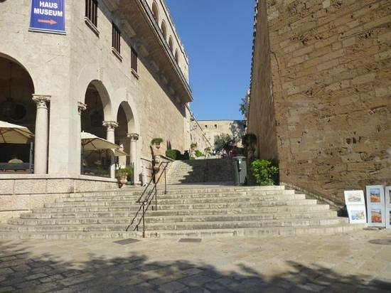 Catedral de Mallorca: scalinata