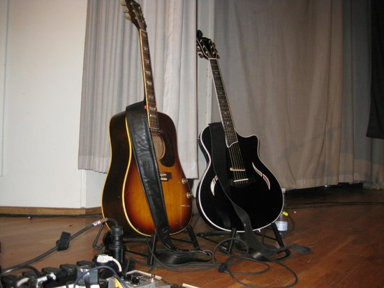 Comwell Korsør : Rugsted´s lækre guitarer.