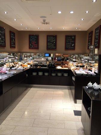 BEST WESTERN PREMIER Harmonie Vienna: Breakfast area