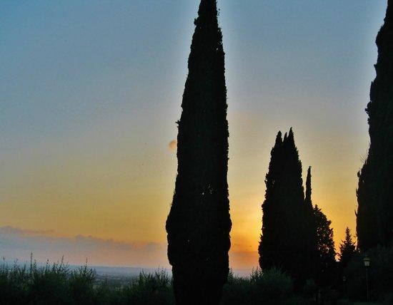 San Damiano: Tramonto
