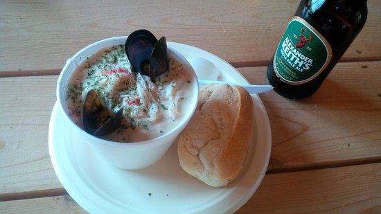 Meat Cove Campground & Oceanside Chowder Hut: Amazing Chowder Hut Chowder!!