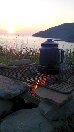 Meat Cove Campground & Oceanside Chowder Hut: Morning Sunrise