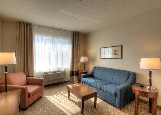 Comfort Suites: Presidential Suite seating area